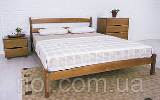 Кровать из бука Лика без изножья от тм Олимп
