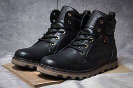 Зимние ботинки  на мехуLevi's Genuine, черные (30852) размеры в наличии ► [  41 44  ]