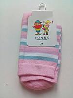 Детские носки демисезонные - BONUS (от ТМ Дюна) р.20 (шкарпетки дитячі) 2 2005 532 20 светло-розовый