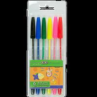 Набір із 6 кулькових  ручок