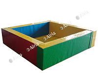 Сухой бассейн Квадрат Airis (150х150х40/15)