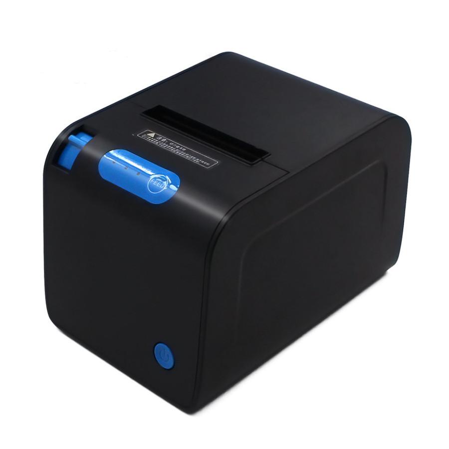 Термопринтер, POS, чековый принтер WodeMax WD-TM80U чёрный с автообрезкой (WD-TM80U)