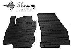 Передние резиновые коврики SEAT Ateca 2016- (2 шт) Stingray 1024132