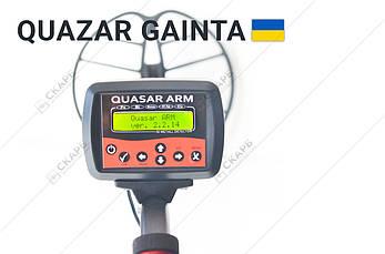 Металлоискатель Металошукач Квазар АРМ, корпус Gainta с FM трансмитерром, металлодетектор, фото 2