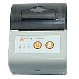 Принтер етикеток AsianWell AW-58A білий, мобільний, бездротовий, bluetooth (AW-58A), фото 2