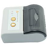 Принтер етикеток AsianWell AW-58A білий, мобільний, бездротовий, bluetooth (AW-58A), фото 4