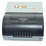 Принтер етикеток AsianWell AW-58A білий, мобільний, бездротовий, bluetooth (AW-58A), фото 5