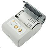 Принтер етикеток AsianWell AW-58A білий, мобільний, бездротовий, bluetooth (AW-58A), фото 6