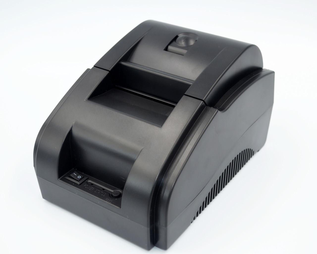 Термопринтер, POS, чековый принтер WodeMax WD-58DT чёрный (WD-58DT)