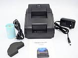 Термопринтер, POS, чековый принтер WodeMax WD-58DT чёрный (WD-58DT), фото 8