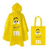 Дождевик M&M's жёлтый