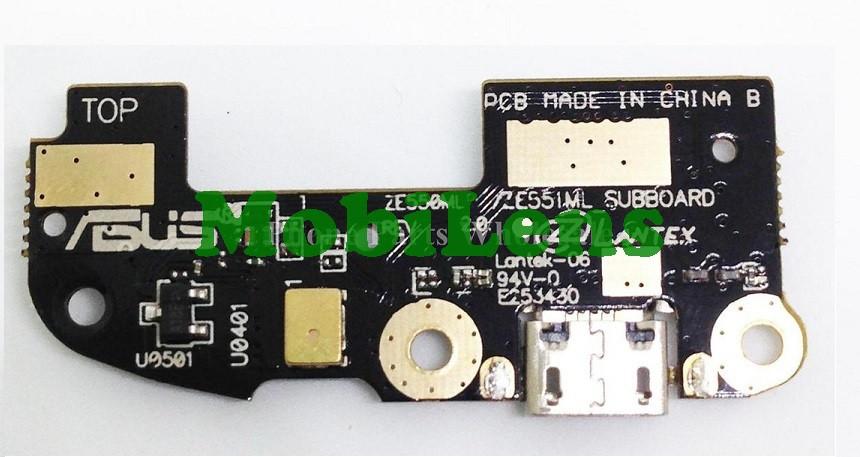 Asus ZE550KL, ZE551KL, ZenFone 2 Laser Шлейф с разъемом зарядки и микрофоном