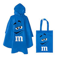 Дождевик M&M's синий