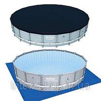 Каркасный бассейн Bestway 56705, 671 х 132 см (9 463 л/ч, лестница, подстилка, тент), фото 2