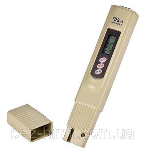 Электронный анализатор качества и температуры воды., фото 1