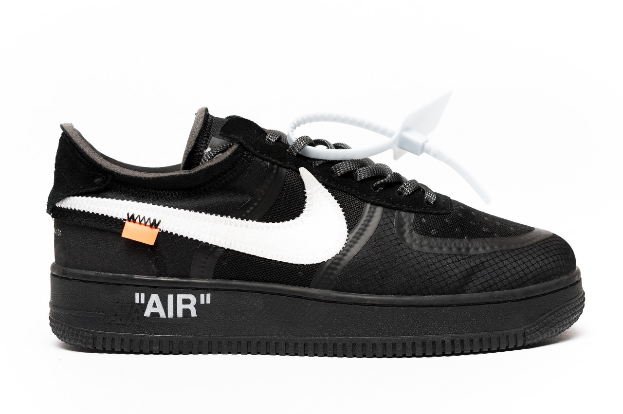 36a30550 Кроссовки мужские весенние / летние в стиле Nike Air Force Utility black -  Интернет-магазин