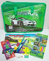 Подарочный набор в портфеле для мальчика 10 предметов