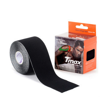 Кинезио тейп Tmax kinesio tape черный