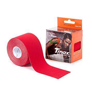 Кинезиотейп Tmax kinesio tape красный