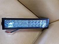 Автолампа LED Еpistar диод. 72w. Свет spot. 35см. Прямая.крепление боковое.