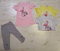 Набор-двойка для девочек оптом, MINI ANGEL, 4-12 лет., арт.LK-783, фото 1
