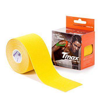 Кинезио тейп Tmax kinesio tape желтый
