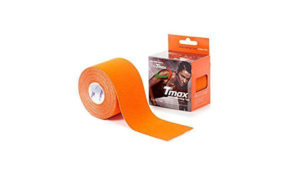 Кинезио тейп Tmax kinesio tape оранжевый