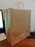 Пакет бумажный с ручками 260х340