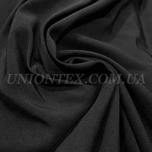 Ткань бенгалин Турция плотный черный