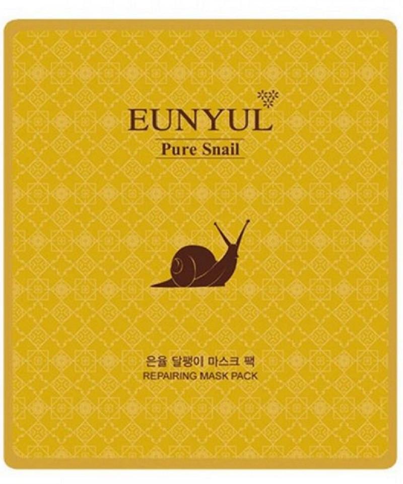 Тканевая маска для лица омолаживающая с муцином улитки Eunyul Snail Mask Pack 30 мл (8809435401602)