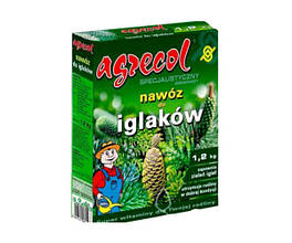 Удобрение 1,2 кг для хвойных растений Agrecol