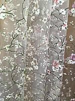 Тюль органза сакура , фото 1
