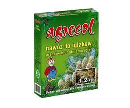 Удобрение 1,2 кг для хвойных растений от пожелтения хвои Agrecol
