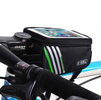 Велосумка на раму с отделом для смартфона 16.5*9*8 см (ВС-100), фото 1