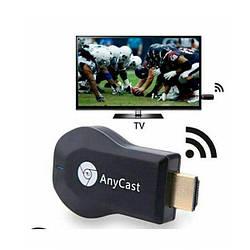 Медиаплеер Miracast AnyCast M4 Plus hdmi со встроенным Wi-Fi модулем для iOS/Android