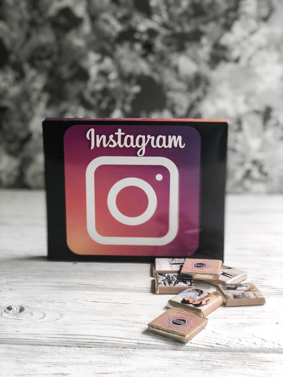 Молочный шоколад набор с фото «Инстаграмм»