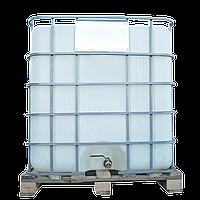 Емкость квадратная в решетке с металлическим краном 1000 л Еврокуб