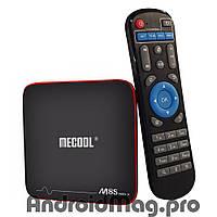 Андроид ТВ приставка Mecool M8S Pro W 1/8 Gb Amlogic S905W