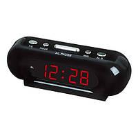 Часы электронные сетевые VST 716-1 Красное свечение