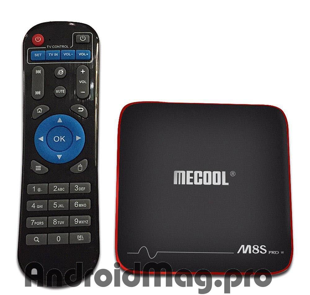 Андроид ТВ приставка Mecool M8S Pro W 2/16 Gb Amlogic S905W