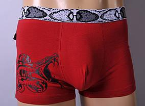 Чоловічі труси - боксери C+3 #772 L червоні, фото 2