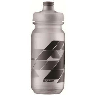 Фляга GIANT Pour Fast Autospring 600мл, прозрачная/серая