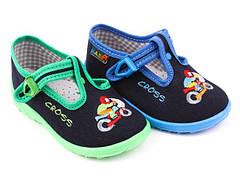 Дитяча текстильна взуття Nazo