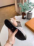 Кроссовки Луи Витон Ran Away натуральная кожа, фото 3