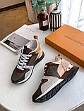 Кроссовки Луи Витон Ran Away натуральная кожа, фото 5