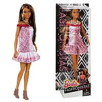 Кукла серии Модница Красно-белое платье Barbie DGY54 / DGY56