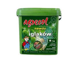 Удобрения 5 кг для хвойный растений от пожелтения хвои Agrecol