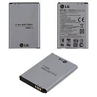 Батарея (акб, аккумулятор) BL-59JH для LG Optimus L7 2 P713, P715, 2460 mAh, оригинал