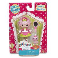 """Лялька Minilalaloopsy з серії Lalabration """"Принцеса Блискітка"""",7.5см, Lalaloopsy"""