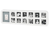 Рамка Baby art First Year Print Frame white & grey( 1-й год жизни)